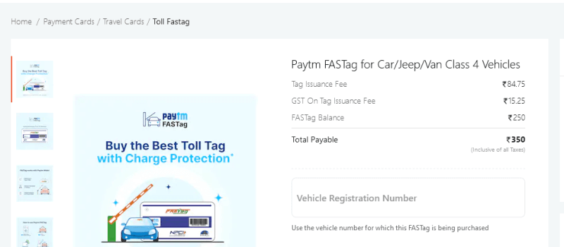 how to activate fastag
