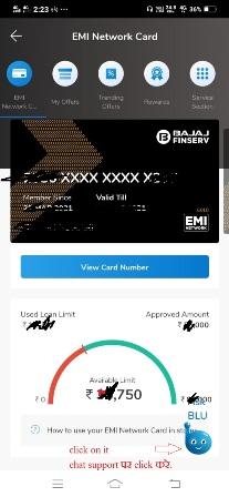 how to unlock bajaj emi card online 1