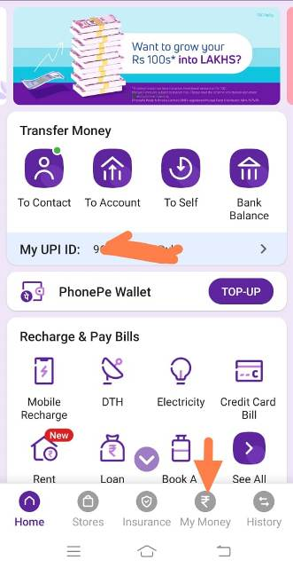 how to add bank account in phonepe