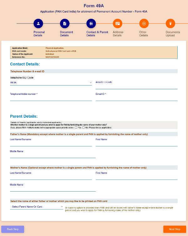 uti se pan card kaise banaye contact details (1)