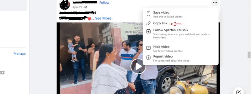 facebook se vedio kaise download kare select vedio (1)