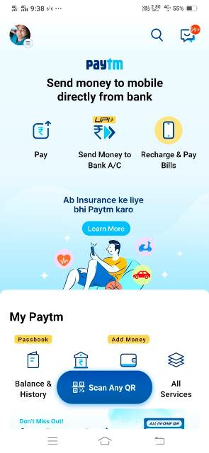 fastag recharge kaise kare by paytm