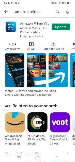 amazon app kaise download kare prime