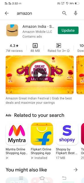 amazon app kaise download kare