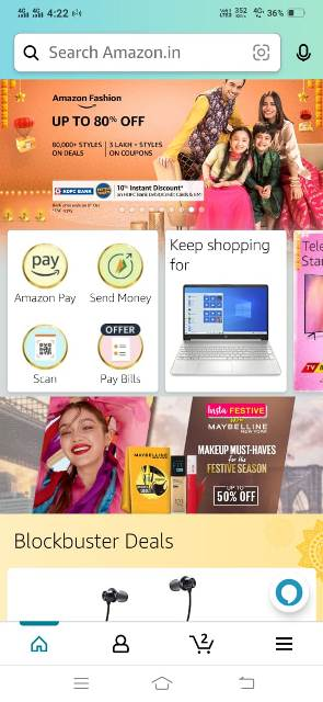amazon app se recharge kaise kare on pay